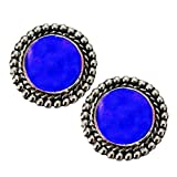 Women Fashion Jewellery Antique Blue Sto...