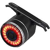XIAOKOA Fiets Achterlicht, Waterdicht LED Achterlicht, USB Oplaad Achterlicht, Fiets Waarschuwings Achterlicht