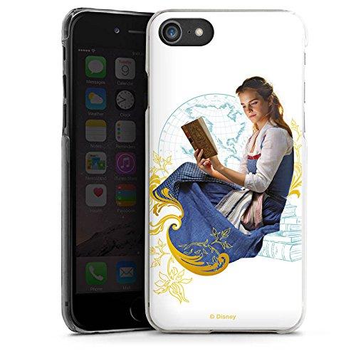 Apple iPhone X Silikon Hülle Case Schutzhülle Die Schöne und das Biest Belle Disney Prinzessin Hard Case transparent