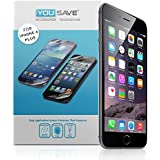 Yousave Accessories Film Protection iPhone 6 Plus cran Protecteur Garde Paquet  x 5