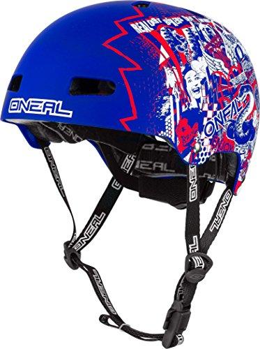 O\'Neal BMX/Dirt Helm Dirt Lid ZF Blau Gr. M/L