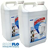 Pack of Two Saniflo Descaler Cleanser 5 Litres