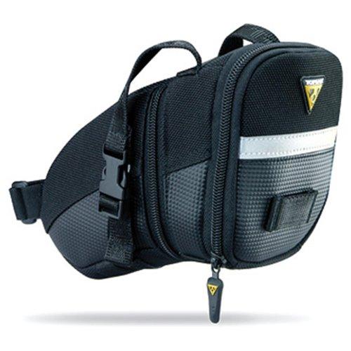 TOPEAK Aero Wedge Pack Strap Satteltasche Riemen Sattelstütze Rücklichtaufnahme Fahrrad Rennrad MTB, 15000007, Größe medium