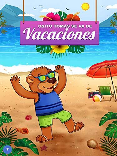 Osito Tomás se va de vacaciones (Spanish Edition) (Playas Club)