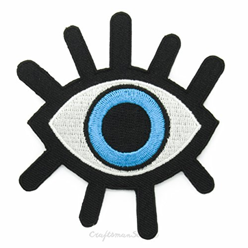 creepy-21th-century-boy-long-lash-eye-blue-easy-fast-iron-on-sew-on-embroidered-patch-applique-gift-