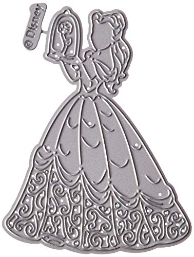 Disney World Scrapbooking (Character World Disney Beauty and The Beast Die and Face Stamp Set-Enchanted Belle)