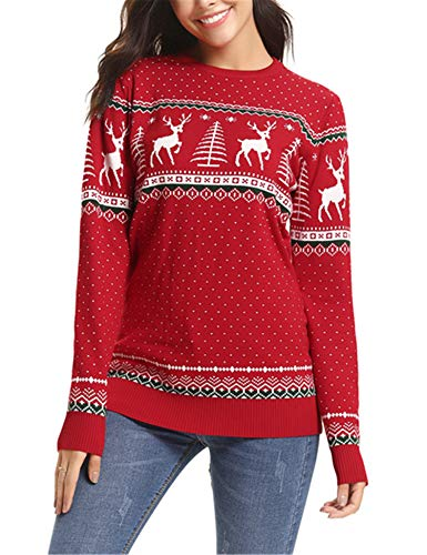 Women's Retro Knitwear Christmas Jumper - many designs