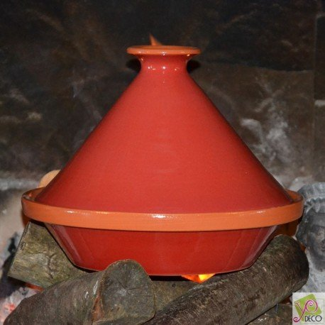 Tajine Spécial Feu Rouge - D 31 cm
