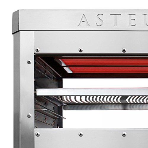 Asteus Steaker Elektro Infrarot Grill Ca 42x25x34 Cm
