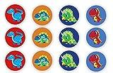 12 Stück Muffinaufleger Muffinfoto Aufleger Foto Bild Dinosaurier (4) rund ca. 6 cm *NEU*OVP*