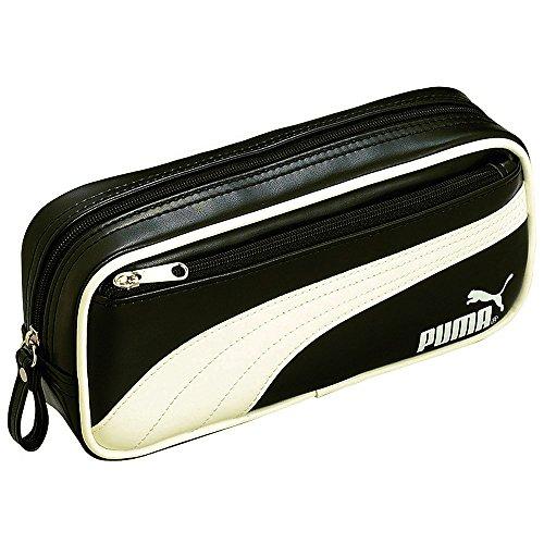 pen-leather-kutsuwa-puma-square-case-345pmbk-negro-japn-importacin