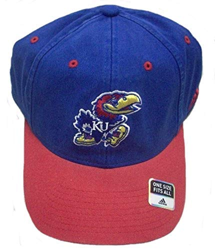 adidas Kansas University Jayhawks Slouch Flexfit Hat EA39Z Kansas University