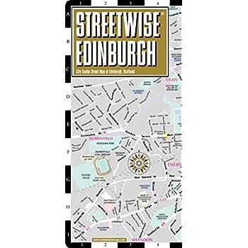 Plan StreetWise Edimbourg