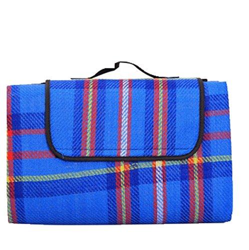 Stricken 2 * 1.5m Beweis Picknickmatte Baby Krabbeln Matte,Blue