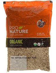 Pro Nature 100% Organic Red Beaten Rice (RedPoha)500g