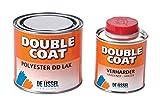 De IJssel Double Coat 2K Bootslack - Farbe marineblau / DC 854 - 500 Gramm Set - (Yachtlack, Decklack) marine blau