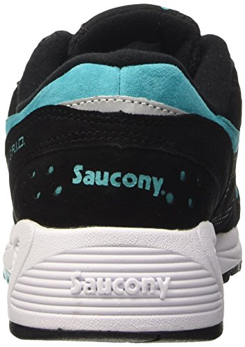 Saucony Grid 8000, Scarpe Low-Top Unisex – Adulto Nero