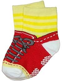 BOMIO | ABS Socken in farbenfrohem Design Schuhe | Antirutsch Baby-Söckchen aus hautfreundlichem Material | Stoppersocken | Hervorragende Passform