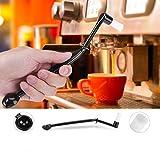 Doppelzweck- Kaffeemaschine Reinigung Pinsel Reinigungsbürste Reinigung Werkzeug für Espresso Maschine