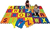 Zumz New 26pc Soft Eva Jigsaw Kids Crawl Baby Play Mat Alphabet Puzzle Foam Thick Mats