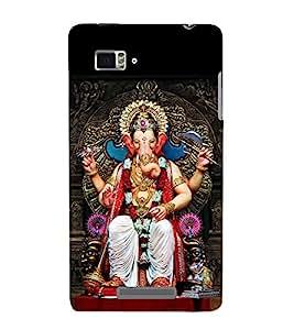 Vizagbeats Lord Ganesha Back Case Cover for Lenovo Vibe Z K910