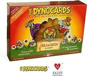 The Dynocards: Le carte da gioco dei dinosauri e il nuovo gioco kilo di cacca!