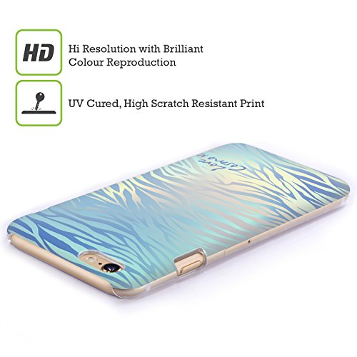 Official Cosmopolitan Mint Peach Cosmo Iridescence Hard Back Case for Apple iPhone X Shiny Zebra