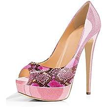 Suchergebnis auf Amazon  für  high high high heels pink 43 0518fc