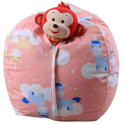 Spielzeug Aufbewahrungstaschen, Holeider Sitzsack Kinder Stofftier Kuscheltiere Aufbewahrung...