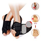 Bunion Correctors Night Time,HENYUE Hallux Valgus Bunion Brace with Adjustable Hook and Loop