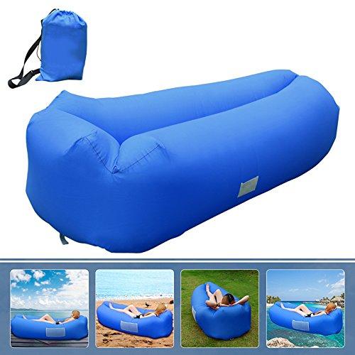 Aufblasbares Sofa, Veamor Tragbares Aufblasbarer wasserdichtes Lounger Schlafsack integriertem...