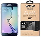 Wow Imagine™ Pro HD+ 9H Hardness 2.5D 0.3mm Toughened Tempered Glass Screen Protector for Samsung Galaxy S6 Edge