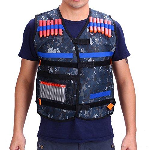 Gilet tactique enfants Elite pour Nerf Gun N-Strike Elite Series (gilet seulement)