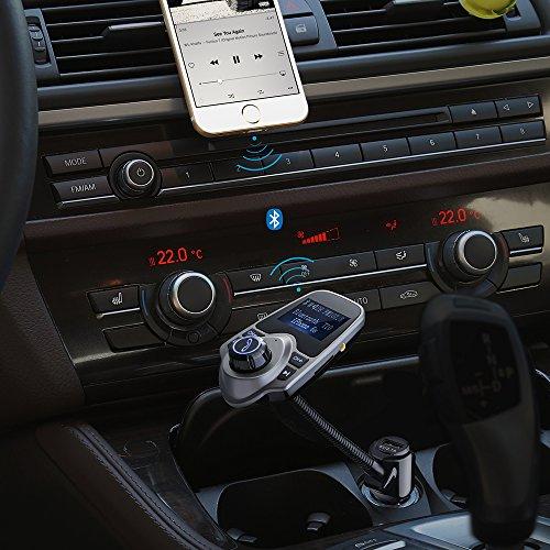 victsing kit de voiture transmetteur fm sans fil bluetooth kit chargeur usb eur 17 54. Black Bedroom Furniture Sets. Home Design Ideas