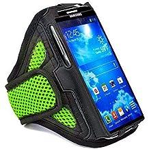 Mejor QualityPremier verde Sports deportivo para banda de brazo para soporte de Funda para Galaxy S3/S4/S5