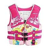 Bambini Giacca da nuoto - Costume da bagno Gonfiabile Ragazzi Ragazze Gilet di Galleggiamento Aiuti al Nuoto Allenamento di Nuoto Aids per Imparare a Nuotare Dimensione S M L