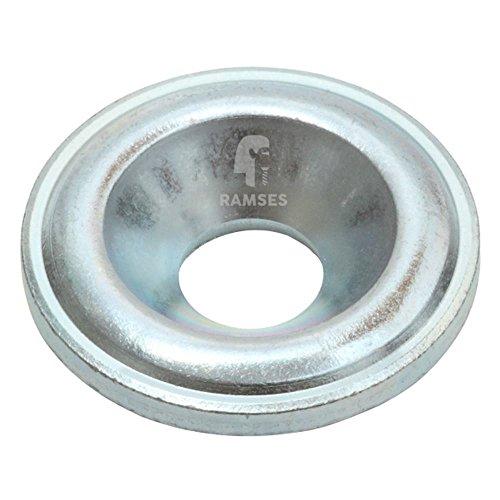 Senkscheibe für Holzbauschrauben 8 mm Stahl blau verzinkt 50 Stück - Scheibe Verzinkt 3 8