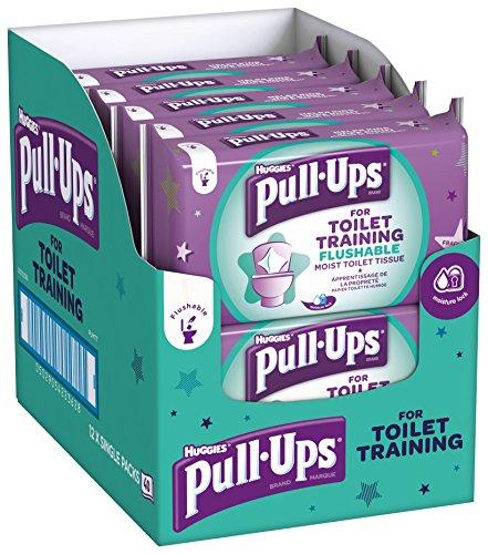 Huggies Pull Up 's WC-Training Feuchttücher, 12Stück -