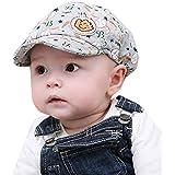 Malloom® moda puntiagudo sombrero béisbol boina tapa para bebé niño chica infantil(gris)
