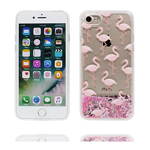 """iPhone 7 Plus Coque, Case iPhone 7 Plus Étui 5.5"""", Cartoon Earth Galaxy -Bling Glitter Flowing Funny Silicone Ultra Slim, Shock Dust Resistant Shell iPhone 7 Plus Cover 5.5"""" # 3"""