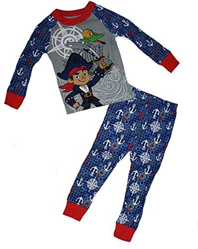 Disney Jake und die Neverland Piraten Jake & Skully kleine Jungen 2 St¡§?ck Pyjama Set ()