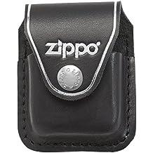 Zippo Lighter Pouch Black with Clip - Mechero, color negro