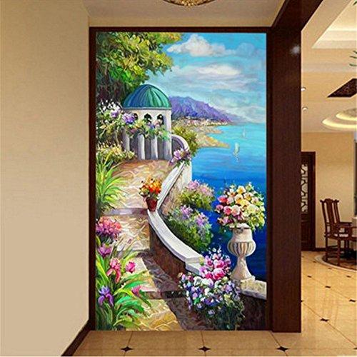 DIY 5D Landscape Diamond Painting Cross-Stitch for Entrance Living Room Bedroom - 4