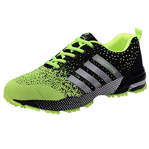Herren Sportschuhe, leichte Laufschuhe Mesh atmungsaktiv Trainer Luftkissen Fitness Athletic Walking Gym Basketball Schuhe - Athletic Medizinische Schuhe