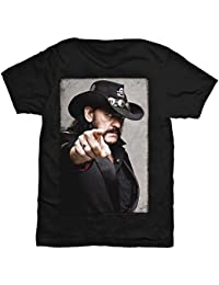 Lemmy Pointing Photo Band Shirt M – 2XL