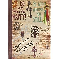 Libreta de bolsillo con citas positivas y que inspiran.