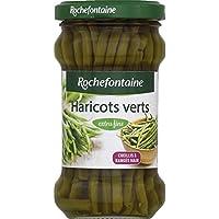 Rochefontaine Haricots verts extra fins Le bocal de 100g - Prix Unitaire - Livraison Gratuit Sous 3 Jours