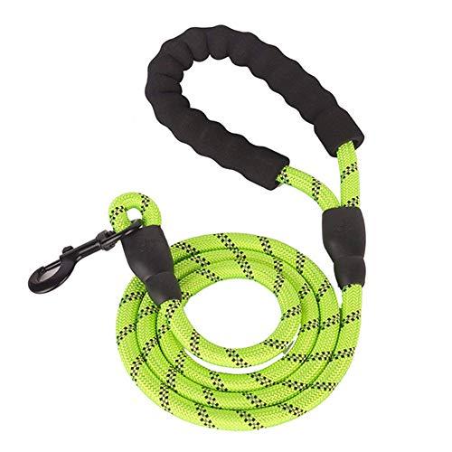 Culer Reflektierende Hundeleine Seil Mit Weich Gepolstertem Griff Starken Haltbares Seil Twist Blei Support All Größe Hunde -