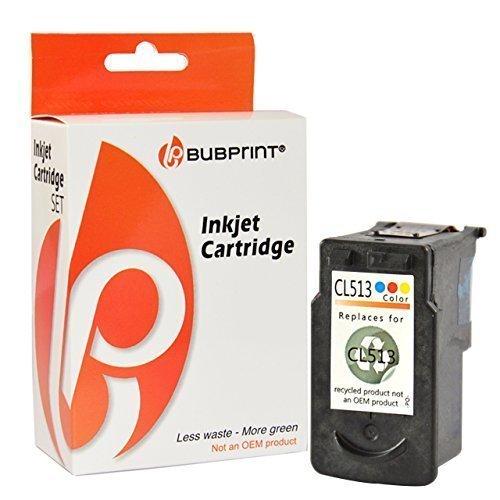 Bubprint Druckerpatrone kompatibel für Canon CL-513 XL CL513 XL CL 513 XL für Pixma IP2700 MP230 MP240 MP250 MP270 MP280 MP282 MP495 MP499 MX320 Color (Canon Druckerpatronen Pg 240)