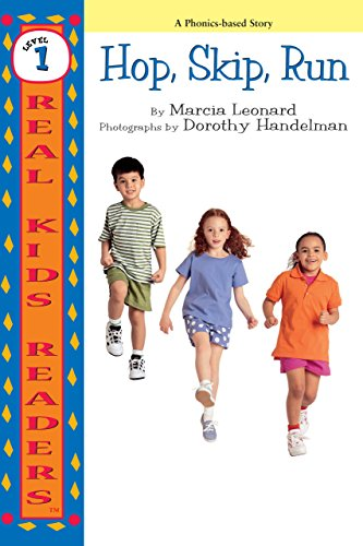 Hop, Skip, Run (Real Kids Readers, Level 1)